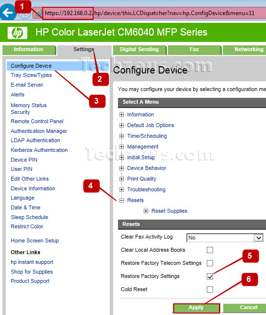 how to find ip address of hp laserjet printer
