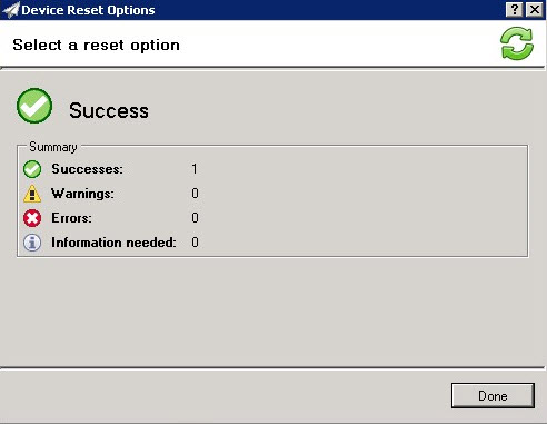 How to perform a cold reset on HP printers using Web